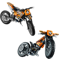 Motocross Bike (42007)